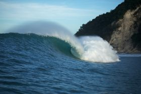 Epic barrels in epic Sumba.